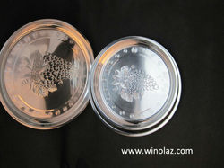 kitchen stainless steel flower design impression trays