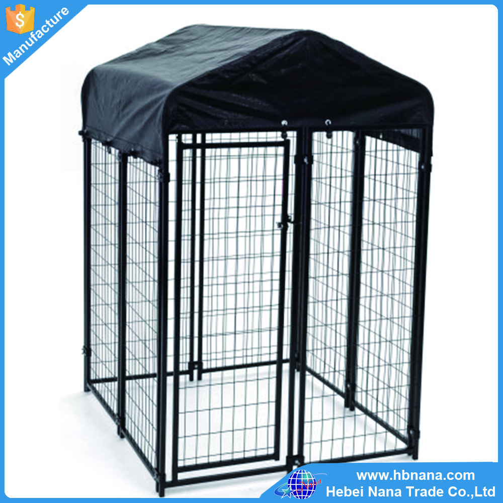 Wholesale cheap large outdoor metal dog kennel wire cage