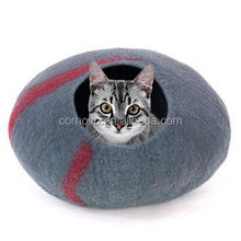 Good pattern fancy cave cat bed producer