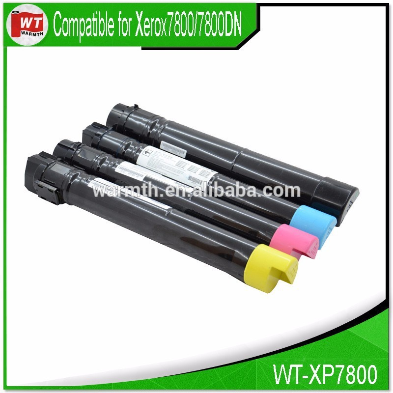 XP7800, Compatible toner cartridge for Xerox 7800; 106R01569 106R01568 106R01567 106R01566