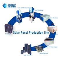 Keyland Semi Automatic PV Solar Panel Manufacturing Machine For 5-300 Watts Solar Module