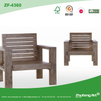 Factory Direct HIgh Quality Best Price Antique Solid Wooden Armrest Back Chair in New Design