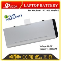 "Genuine Original Li-Polymer laptop battery for Apple MacBook Pro 13"" A1280 aluminum shell one year warranty"