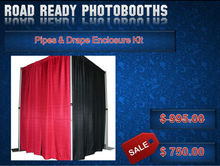 Pipes & Drape Enclosure Kit