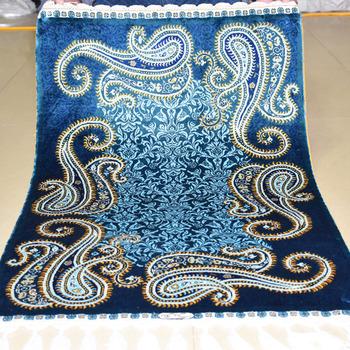 MIngxin 2x3ft Strip Turkish Silk Carpet Handmade Exquisite Persian Silk Rug Area Rugs Pray Carpets Bedroom