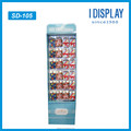 Multi-tires customized pop recycled material cardboard display stand for retailing