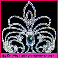 Large pageant spark party wedding rhinestone tiaras and crowns