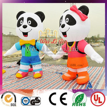 China's national treasure inflatable panda with high quality for advertising