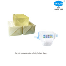 Low temperature resistance hot melt pressure sensitive adhesive construction glue for baby diapers