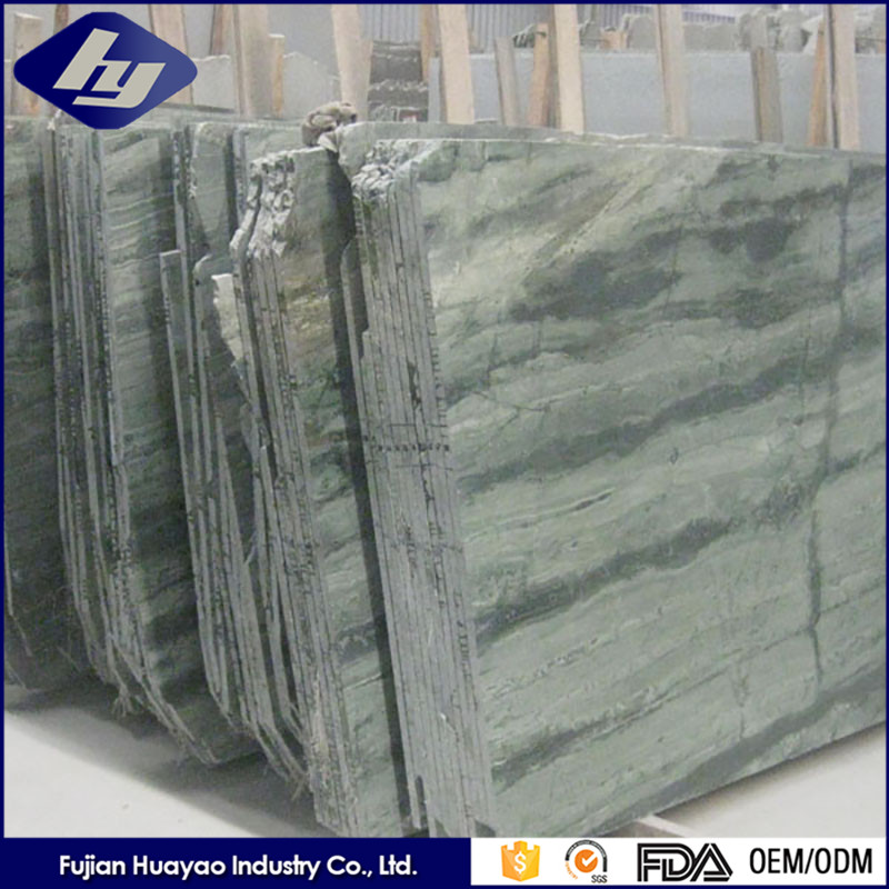 Green Marble Wall Chinese Factoey Outside Natural Turquoise Stone
