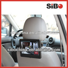 Universal Car Headrest Display With Speakers Microphone