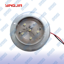 LED Trailer Domed Utility/Multipurpose Round Light Lamp 06006