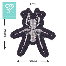 Rhinestone Spider and Insect Sew on Patches cloth Applique Embroidery bead accessory DIY