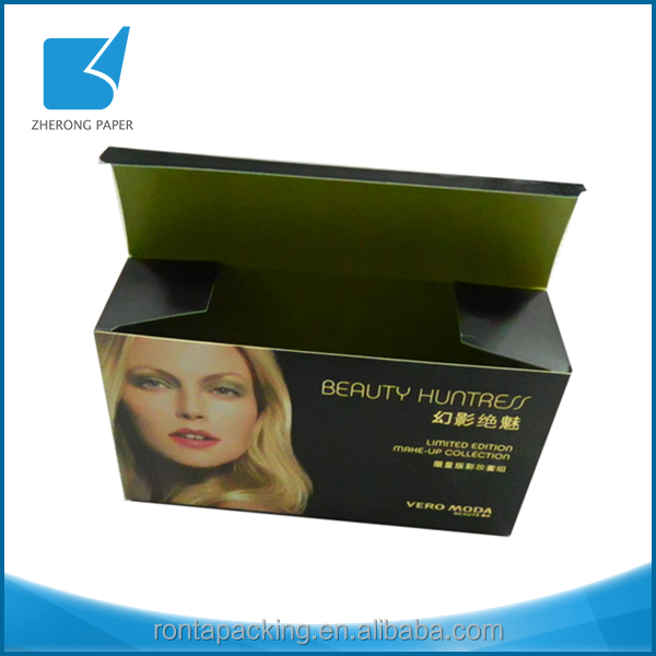 OEM full color professional custom size paper custom wig packaging box