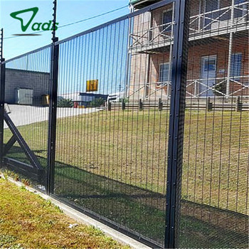 US and Mexico boundary wall fence anti climb mesh security fence