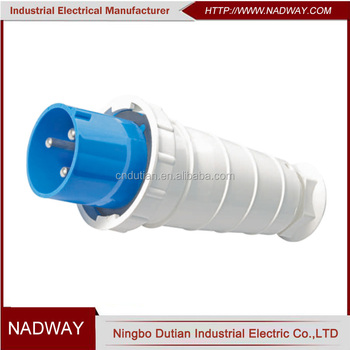safety CEE/IEC IP67 waterproof 63-125A electrical plug