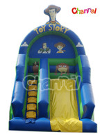 Fashionable commercial Inflatable Water Slide for Adults and Children Toy Story Commercial Themed slide