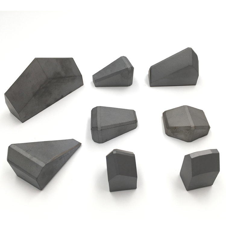High Wear Resistance Tungsten Carbide Brazed Cemented Carbide Stone Cutting Tips for TBM