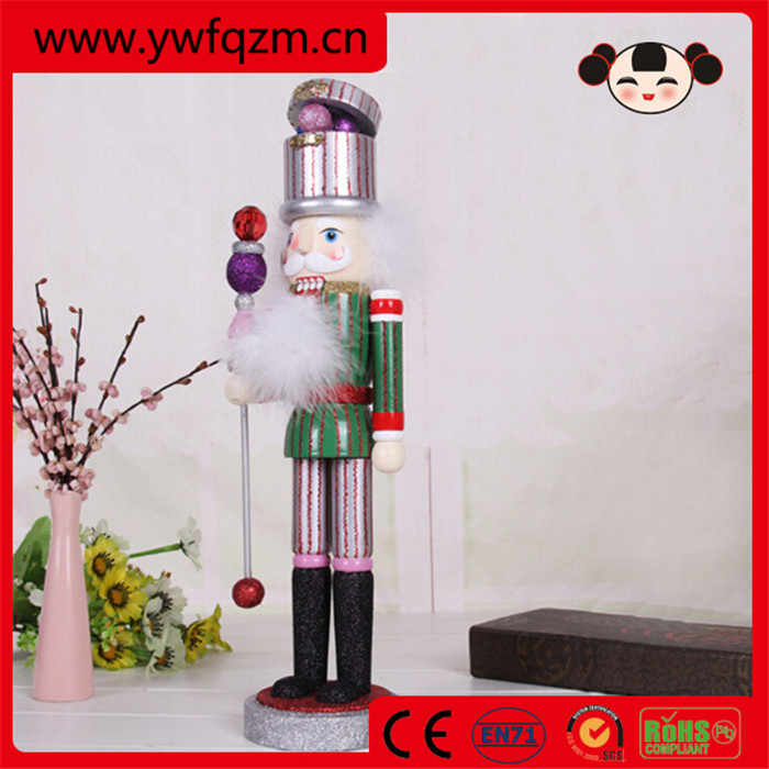 Beautiful decoration custom christmas nutcracker