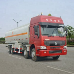 HOWO Fuel Oil Tank Truck 30000 Liters Mobile Fuel Station