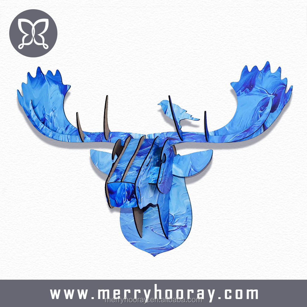 Wholesale Price Different Styles Of Hanging Animal Head