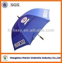 Navy Blue Double Layer Windproof Umbrellla