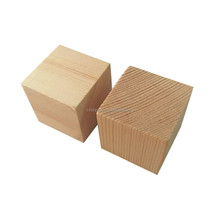 Wholesale Wood Block Large Wooden Cubes Block Of Wood