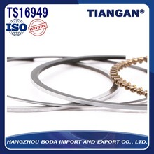 High quality cheap custom piston rings for motorcycle