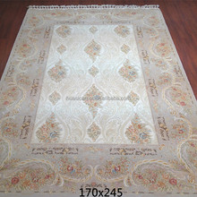flowers design chinese handmade wool silk rugs turkish handwoven wool carpet