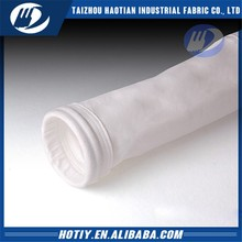 Filter bag for cement and lime industries