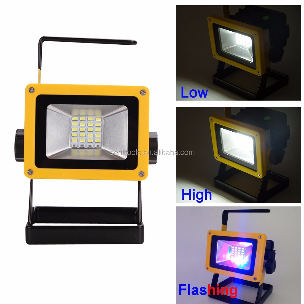 LED Portable Work Lights Flood light For Camping Fashing Car Repairing lighting with Roadside Emergency