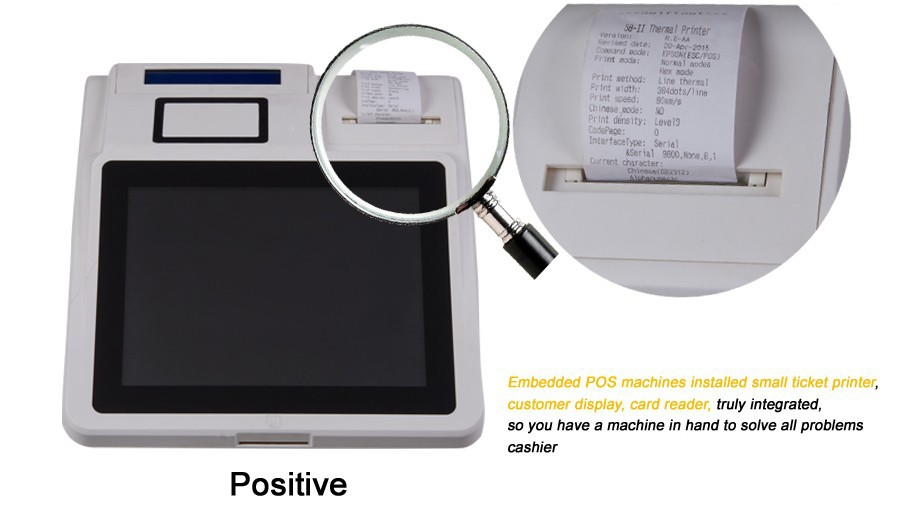 Tuocang TA-TOUCH1208 OEM or ODM Supplied 12'' All in one pc pos touch screen