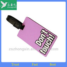 Promotion Luggage Tag For Travel and School Useage