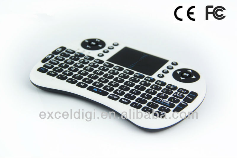 3d android dongle wireless bluetooth keyboard soft case for ipad