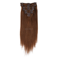 Factory Hot Sale Cheaper Price Silk Straight Clip In Malaysian Hair Extension