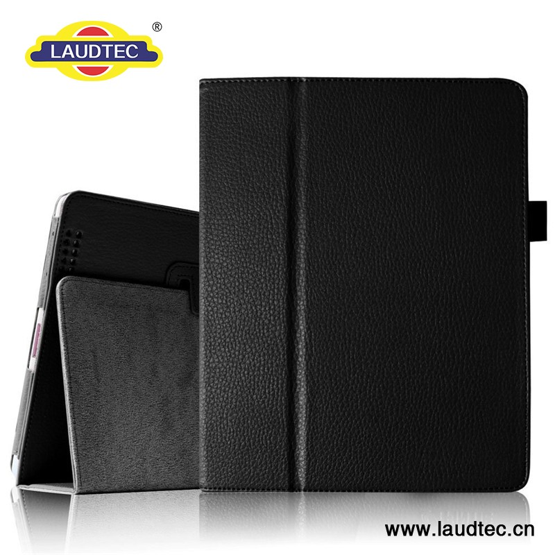 Black Stand High Quality Tablet Case For iPad 4