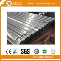 High quality and painted/galvalume sheet metal corrugated steel/metal roofing sheets