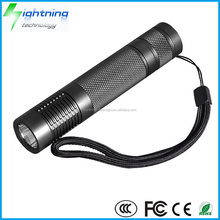 HOT Wholesale High Quality Aluminum Alloy USB Rechargeable 1000 lumens CREE XML U2 Flashlight LED Torch Light