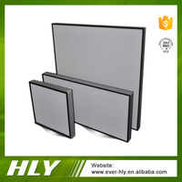 Manufacturer fiberglass mini pleat hepa filter, hepa air filter box h13