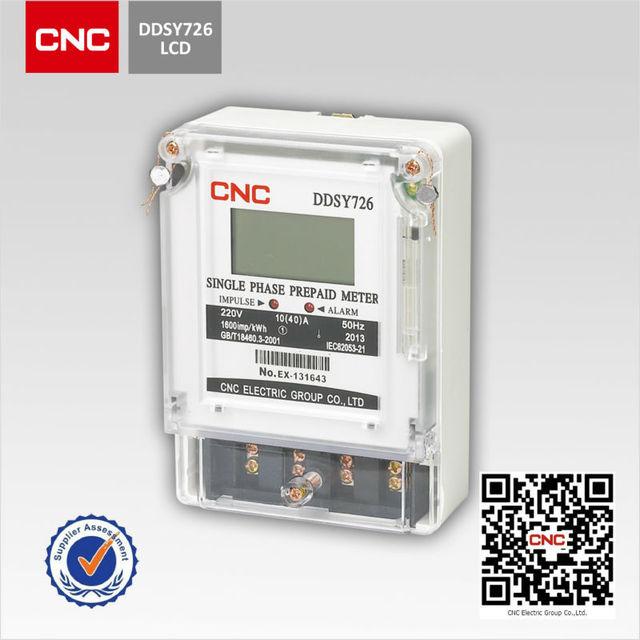 Intelligent DDSY726 single phase power factor meter