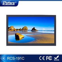 19inch wall mounting lcd advertisement player with CE FCC ROHS (RCS-191C)
