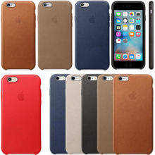 Genuine Original Leather <strong>Case</strong> for iPhone Apple 8 7 7 plus 6s 6s Plus Covers