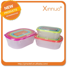 In stock 5ml plastic container bho dab box e nail storage jars plastic lid cosmetic container essential oil container