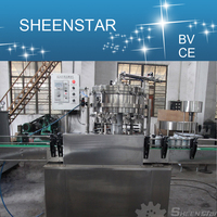 2015 Hot sale Automatic Beer Bottled Filling Machine / Bottling Line