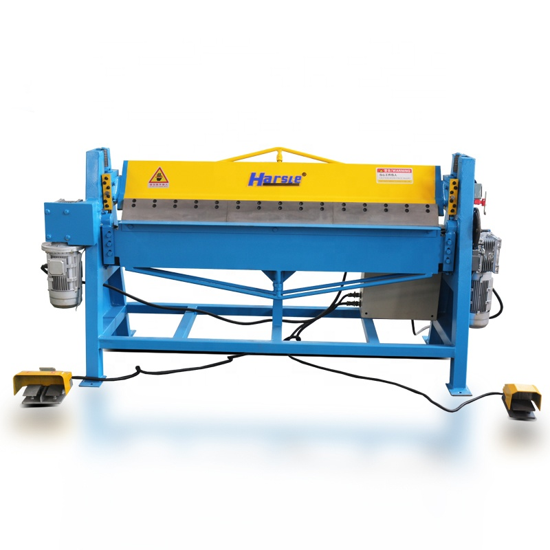 DWS-1.5*1500 factory instock electric steel metal folding machine for GI plate bending machine