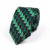 Wholesale Green Christmas Stripe Ties for Men