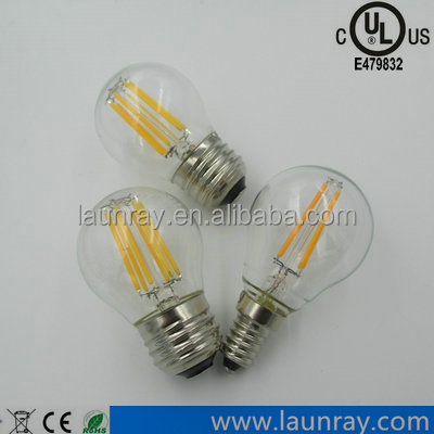 Global Led Filament Lamp G45 G80 G95 G125 <strong>Bulb</strong> 2W 4W 6W 8W with Constant Current Driver SCR Dimmable