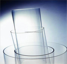 large diameter Circular acrylic tube PMMA transparent tube