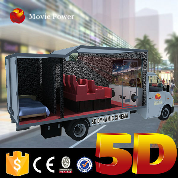High quality special alterable professional mobile x rider 5d cinema