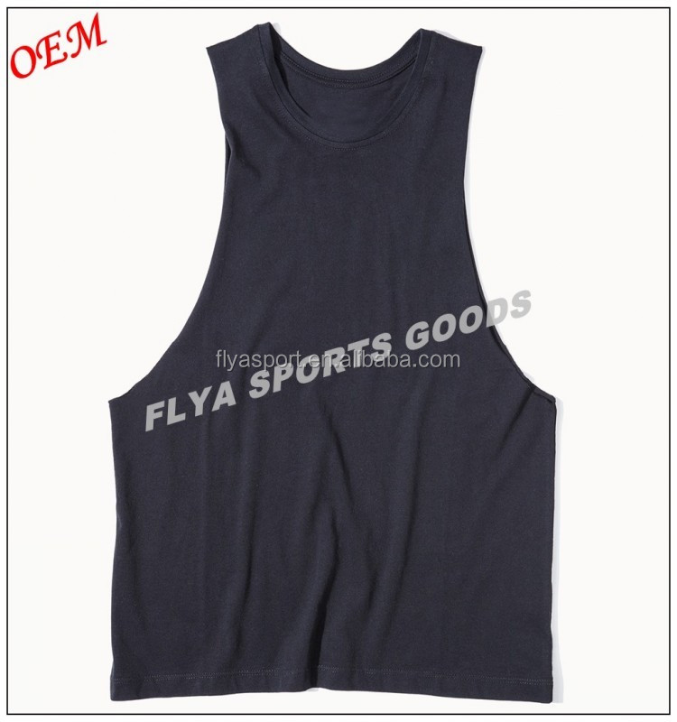 Custom Brand 100% Cotton Jersey Low Armhole Womens Muscle Singlet Tank Top in Light Weight Top Cotton Girls Sleeveless Vest